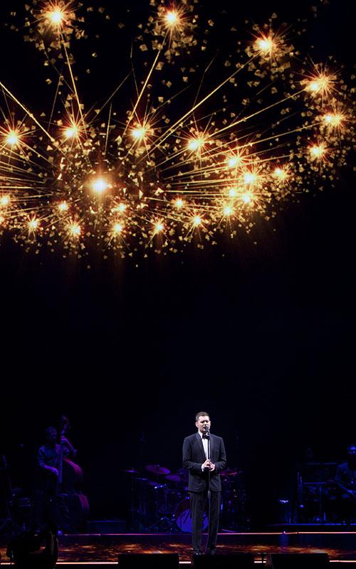 Michael Bublé hizo delirar al Palacio de los Deportes en Madrid