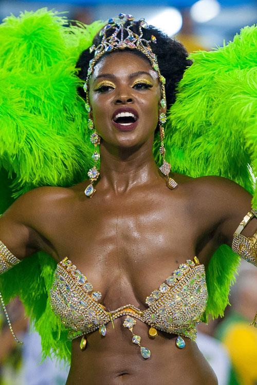 Magia y color en el Carnaval de Río