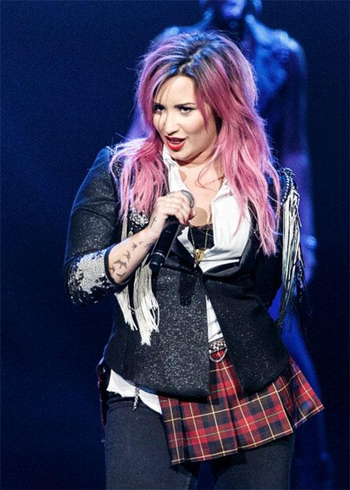 Demi Lovato se enojó con Lady Gaga