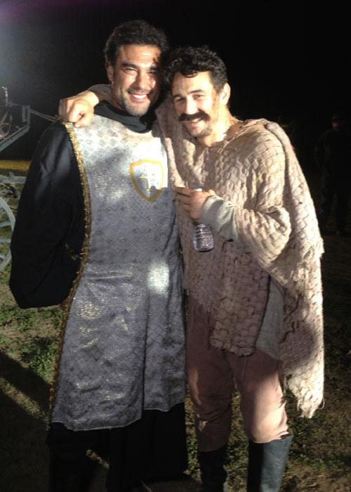 James Franco y Eduardo Yañez se hicieron amigos