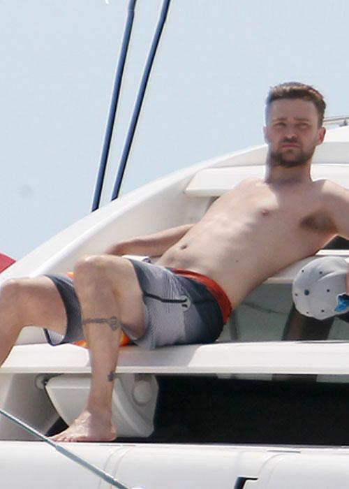 Las vacaciones de Justin Timberlake y Jessica Biel