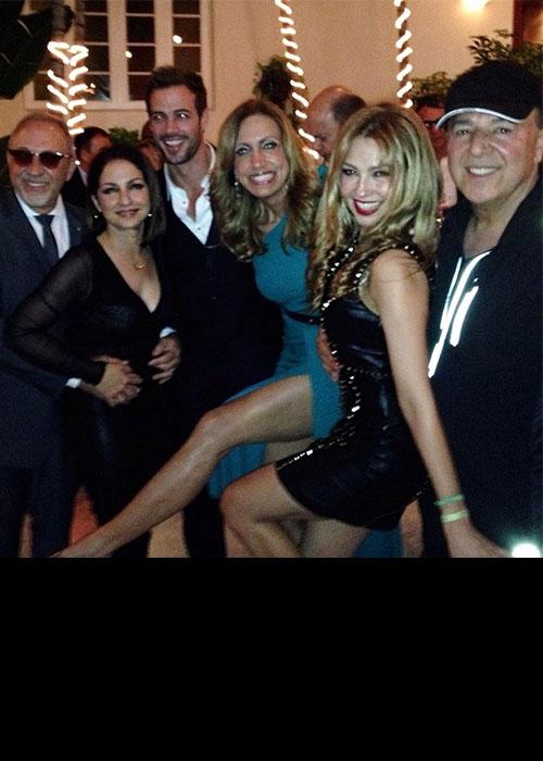 Lili Estefan celebró su cumpleaños rodeada de sus amigos famosos
