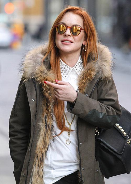 Lindsay Lohan reflexionó sobre sus últimos escándalos