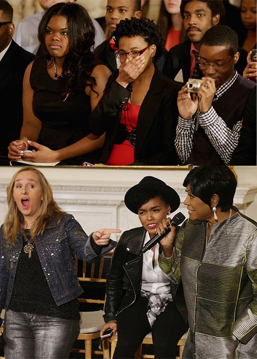 Michelle Obama en el homenaje del Día Internacional de la Mujer