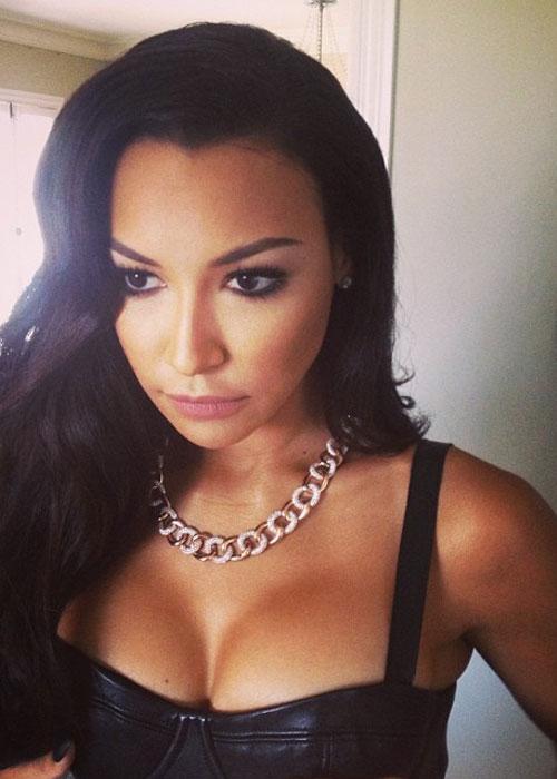 Naya Rivera sube selfies en las que siempre sale bien