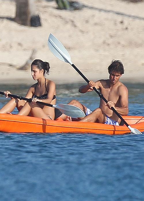 Las vacaciones de Rafa Nadal con su novia en Cozumel