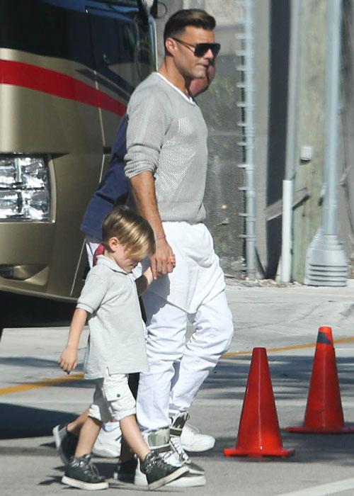 Ricky Martin intenta llevar una vida tranquila