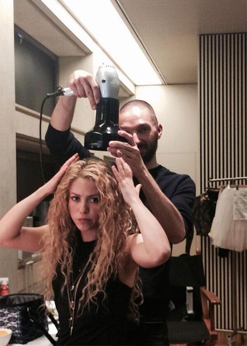 Shakira se vistió de novia
