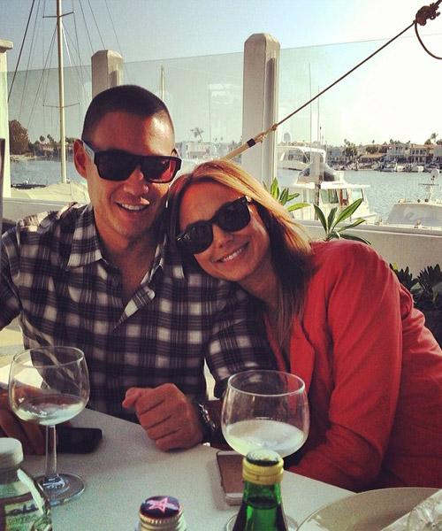 Stacy Keibler, exnovia de George Clooney, confirma su embarazo
