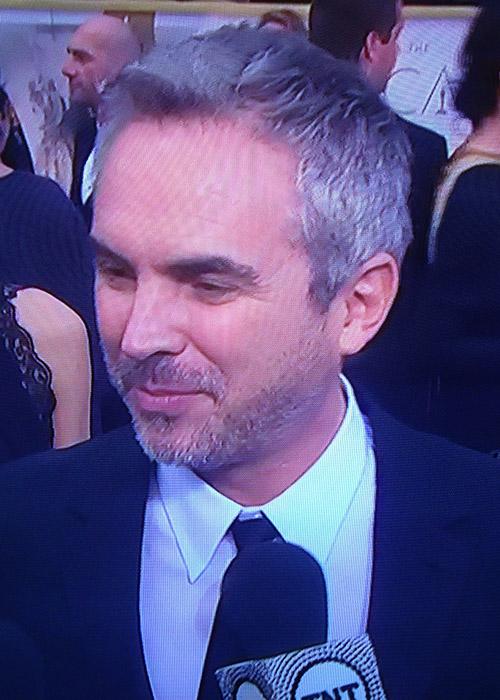Alfonso Cuarón ya domina la alfombra roja