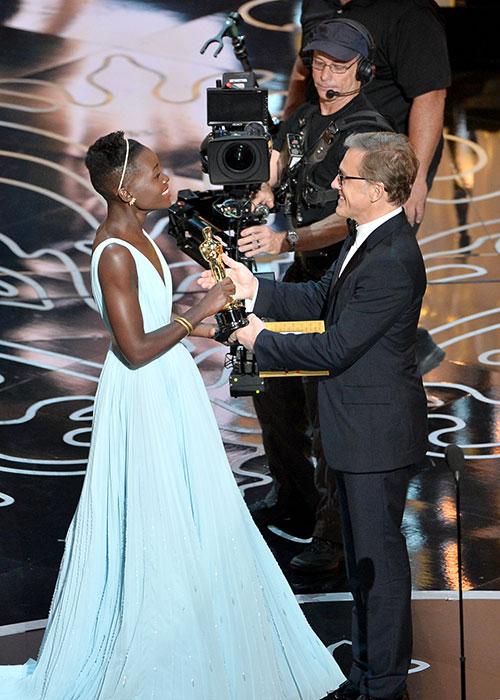 Revive la emotiva premiación de Lupita Nyong'o