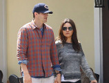 Ashton Kutcher y Mila Kunis embarazados