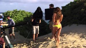Irina Shayk for Beach Bunny Swimwear